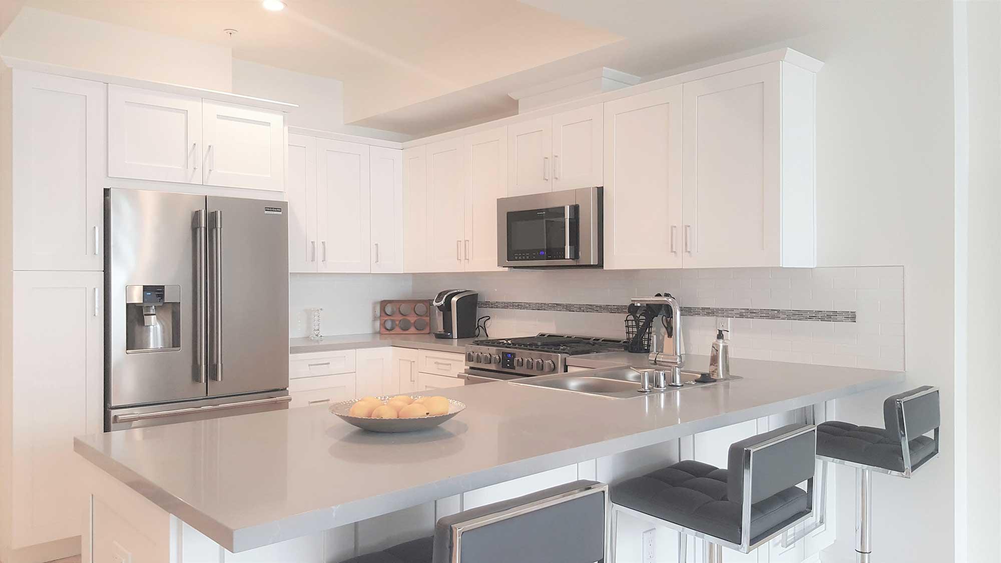 Apartment kitchen interior
